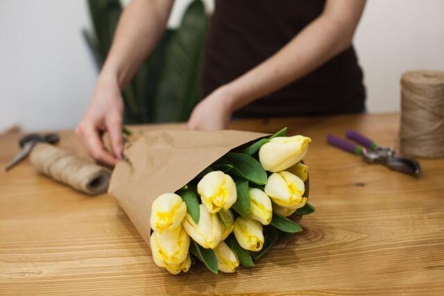 花の仕事について